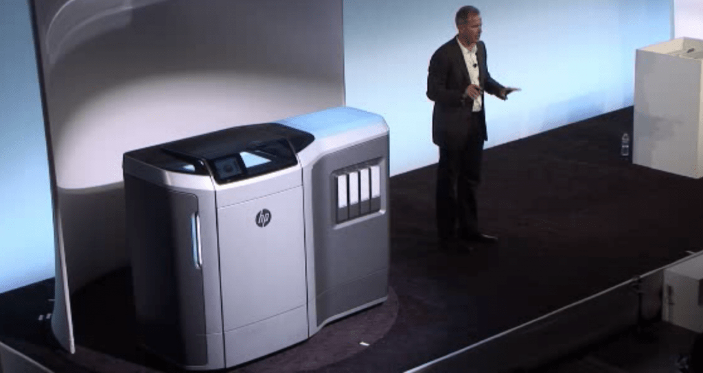 HP Unveils Multi Jet Fusion 3D Printing  10X Faster  10X