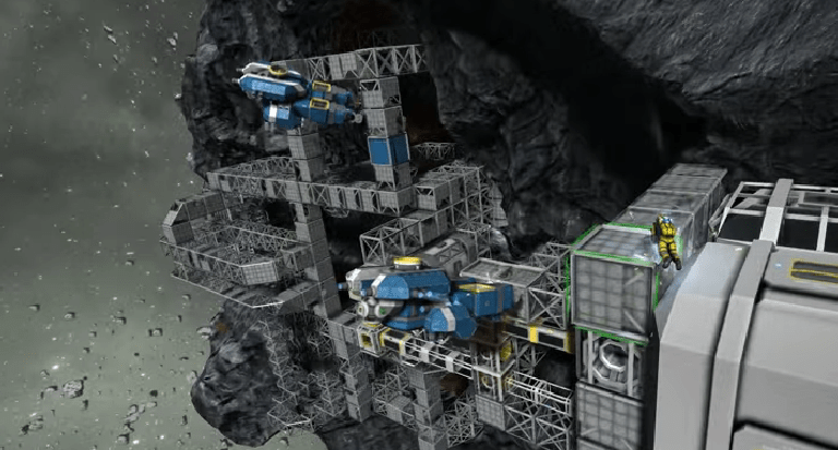 Space Engineers Construction Game Now Allows Players to