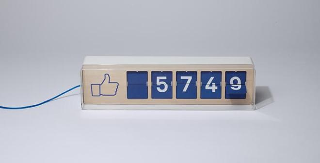 Fliike, the Facebook likes counter