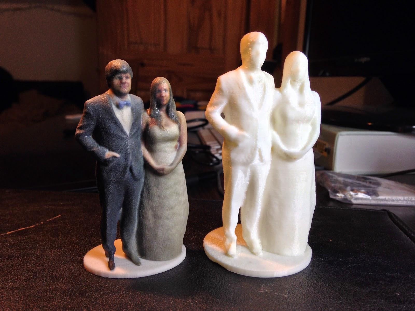 Bride Hacks Shapify Code to Create Perfect Wedding Cake Topper  3DPrintcom  The Voice of 3D