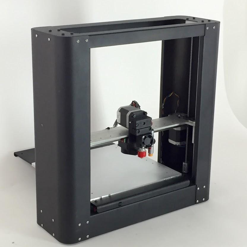The Printrbot Metal Plus 3D Printer  Coming this Black