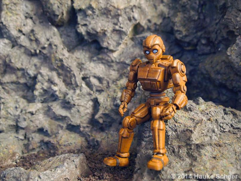 3D Printed Action Figures Done Right Hauke Scheers