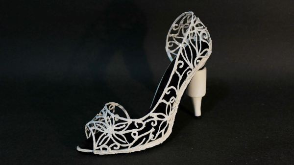 Amazing 3d Printed High Heel Shoe Created With
