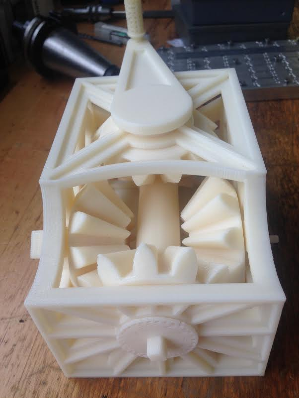Student 3D Prints Incredible Functional Gearbox in One