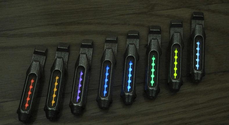 3d Printed, Radioactive Tritium Flashlight €� Runs For 20