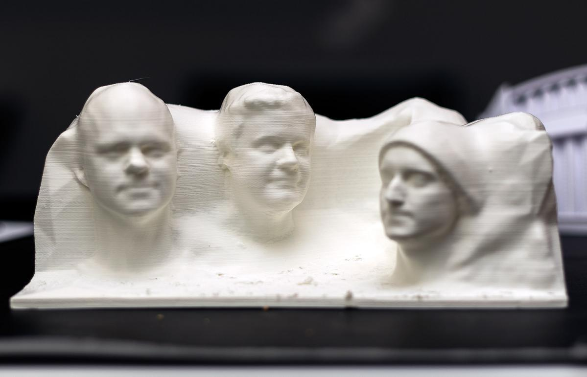 3d Print Your Face On Mt Rushmore