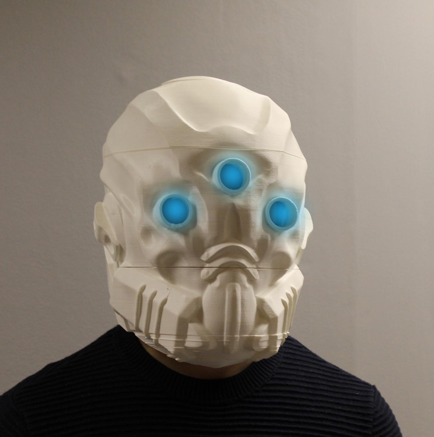 You Can Now 3d Print Your Very Own Mask Of The Third Man