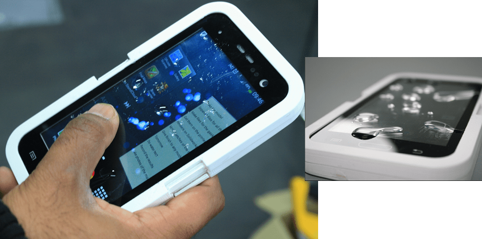 Not Just for Prototyping Anymore Student 3D Prints a Waterproof Smartphone Case  3DPrintcom