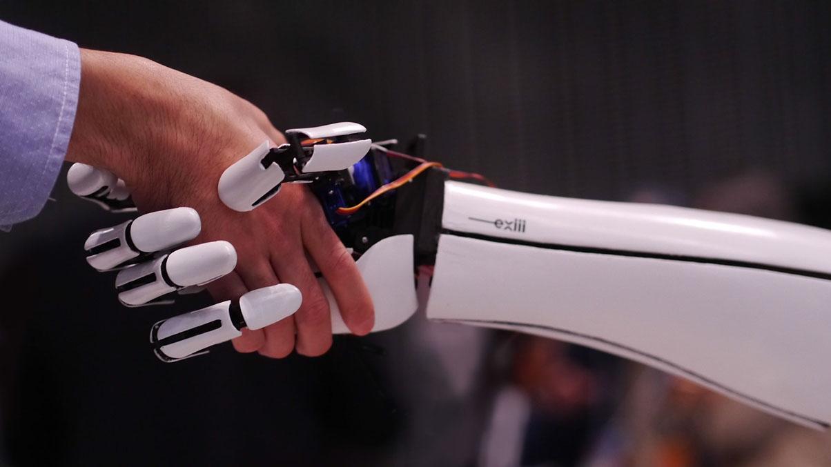 Sub 300 Exiii Handiii 3D Printed Open Source Bionic Hand