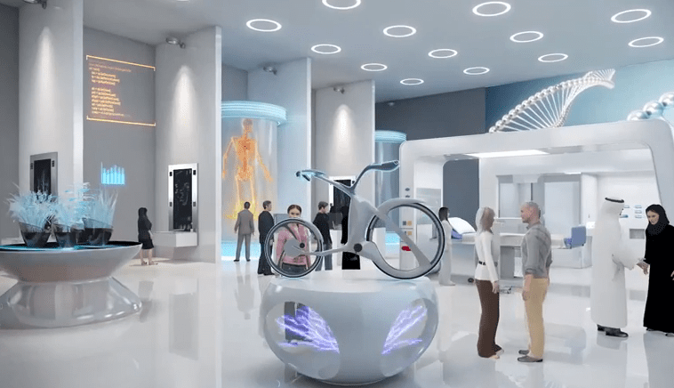 Museum Of The Future To Be Built In Dubai Using 3d