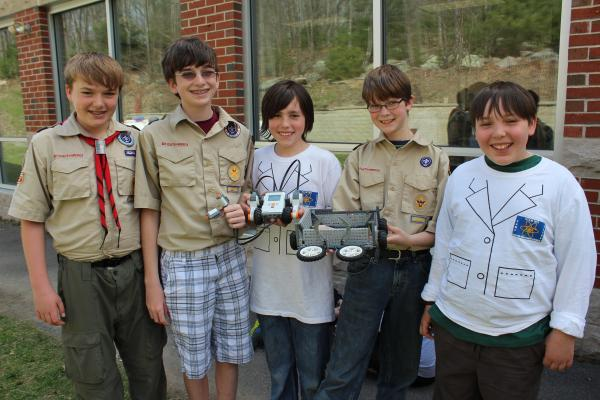Nvbots Offers 3d Printing Workshop Boy Scouts