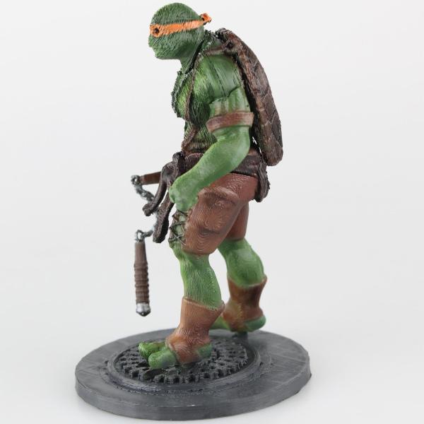 3d Printed Teenage Mutant Ninja Turtles Brought Life
