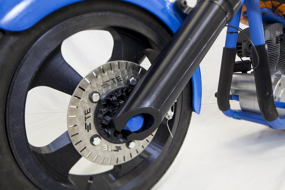 This Incredible Fully Functional 3D Printed Motorcycle