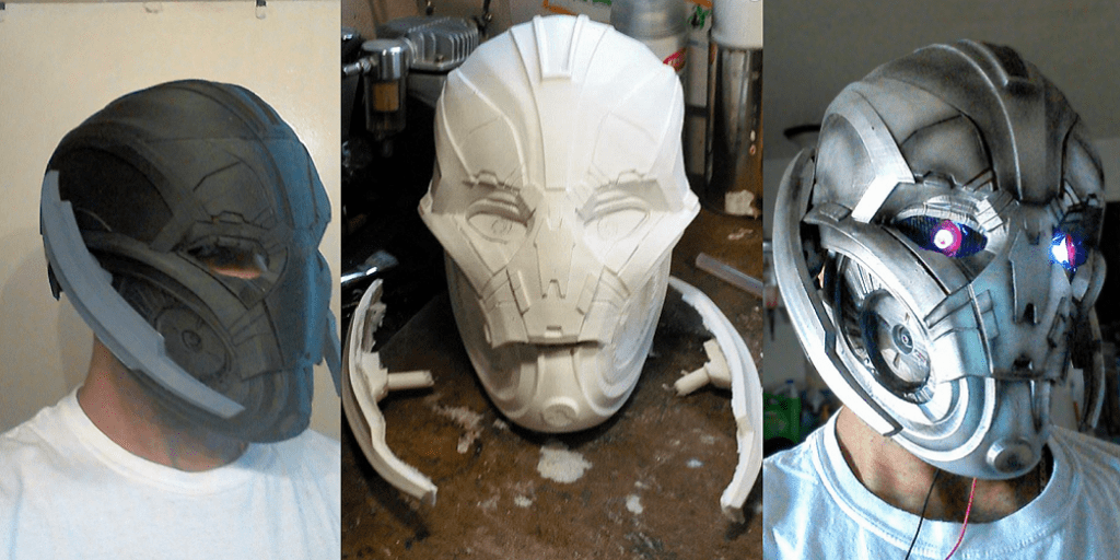 Legends Of The Fall Wallpaper Avengers Age Of Ultron Cosplay Mask Is 3d Printed By