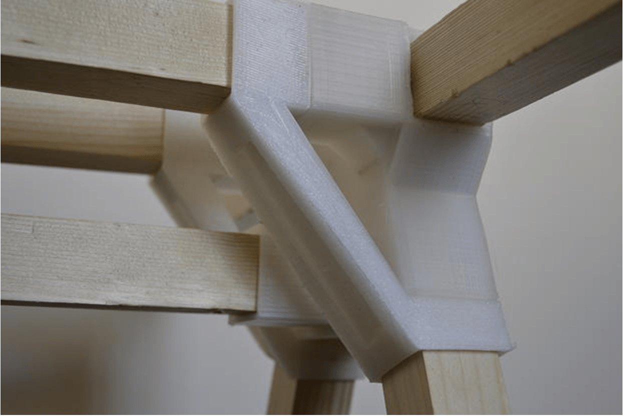 steel chair joints hotel chairs ravensbourne graduate creates functional furniture with 3d