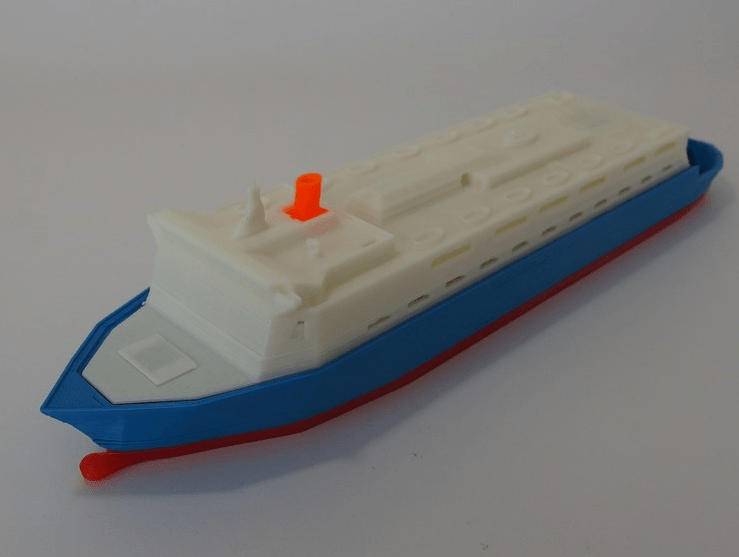 Czech Student Creates Detailed 3D Printed Ship Models