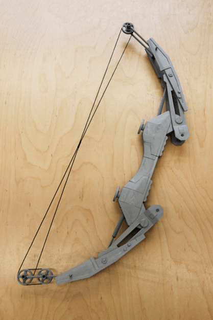 Hero Complex Props 3D Prints An Amazing Compound Bow From