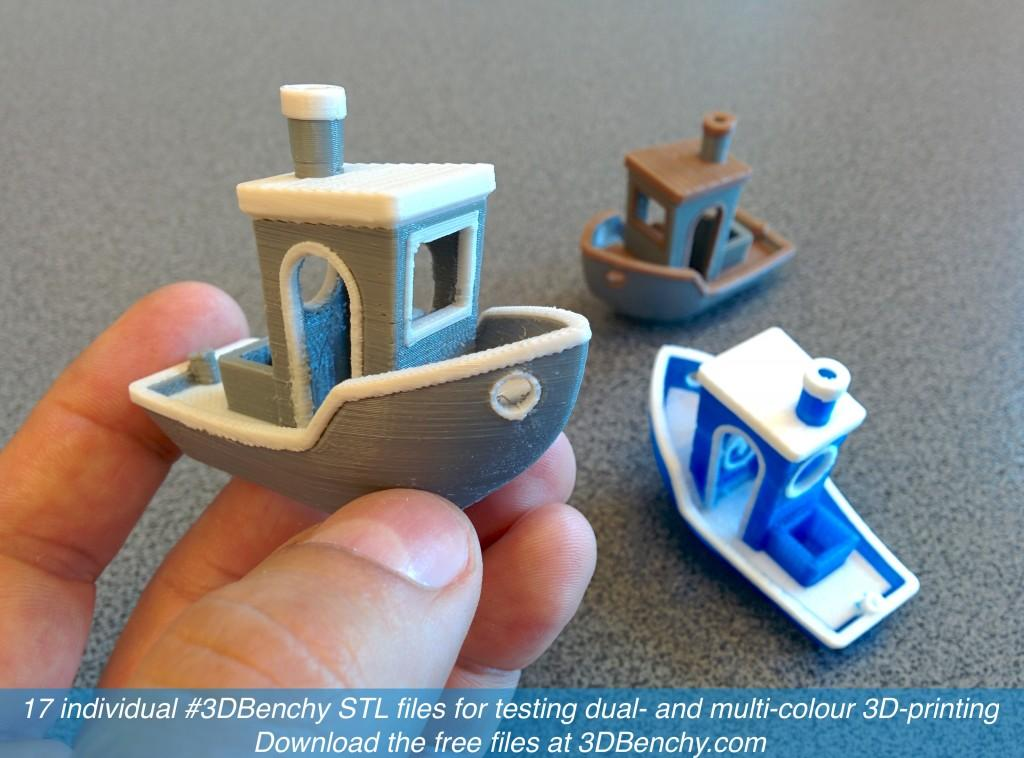 Creative Tools Releases New Dual Extrusion Multi Color
