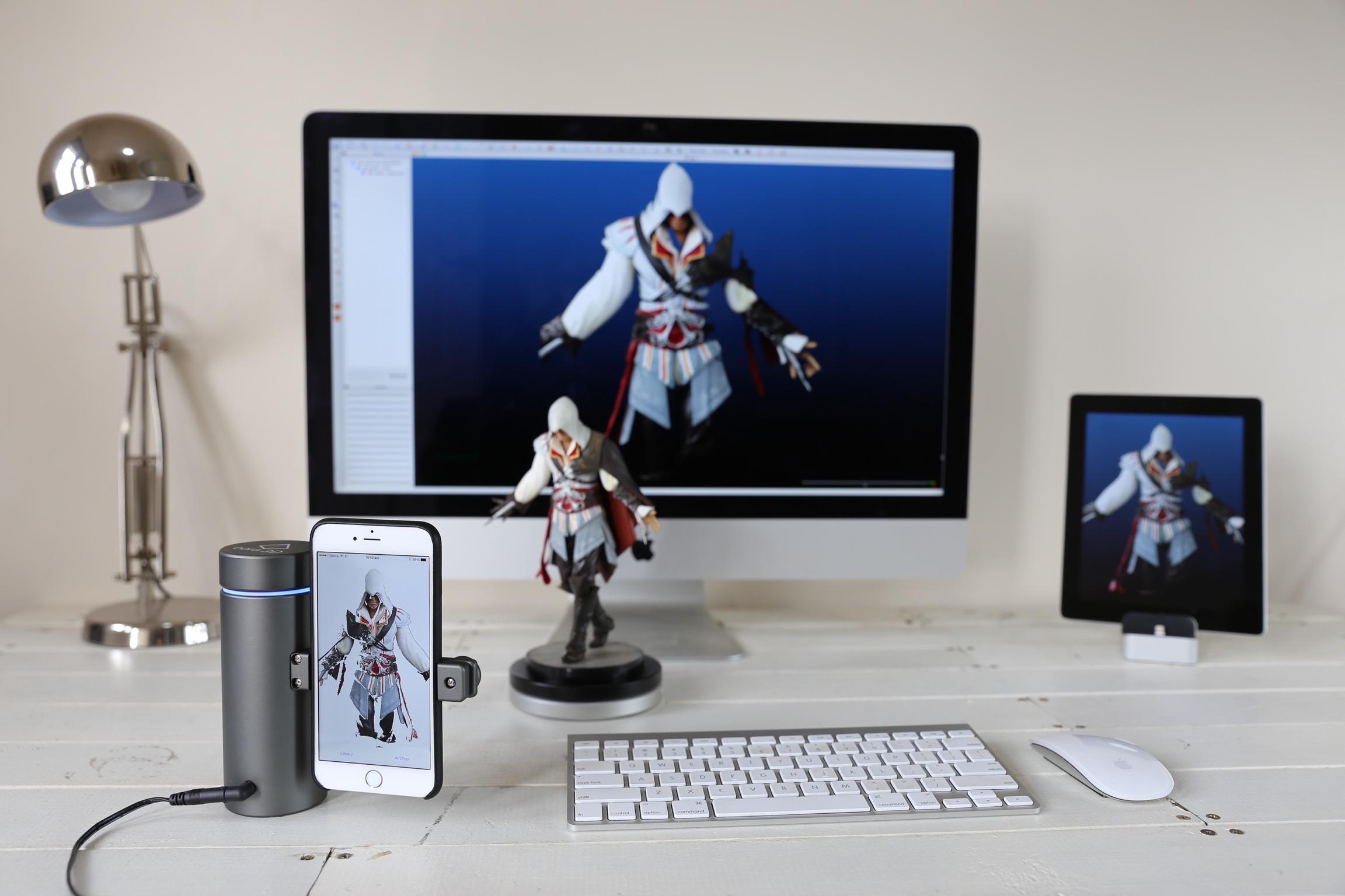 Eora 3d Unveils 199 Iphone Powered 3d Laser Scanner