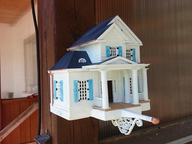 3D Printed Birdhouses are Getting Fancier  3DPrintcom