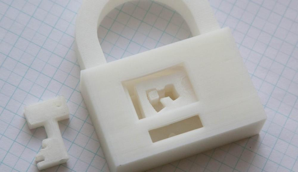 DRM on 3D printable files is probably not going to be an effective deterrent.