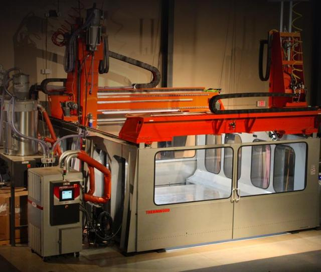 Thermwood Corporation Introduces Lsam Large Scale Additive Manufacturing With A Cnc Twist