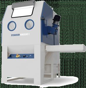 A Dyemanson Powershot post processing machine for SLS parts.