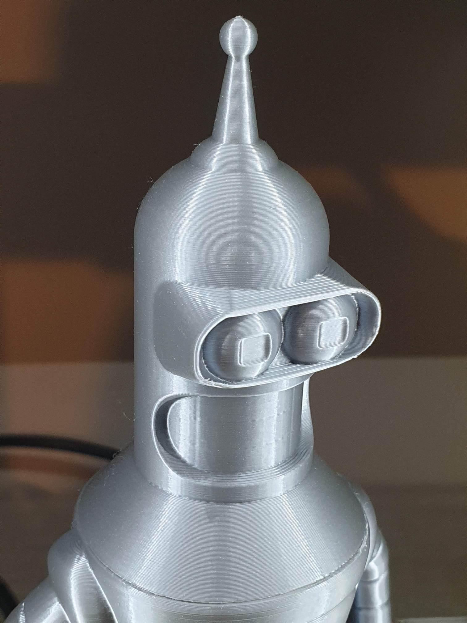 Bender printed on Artillery Genius