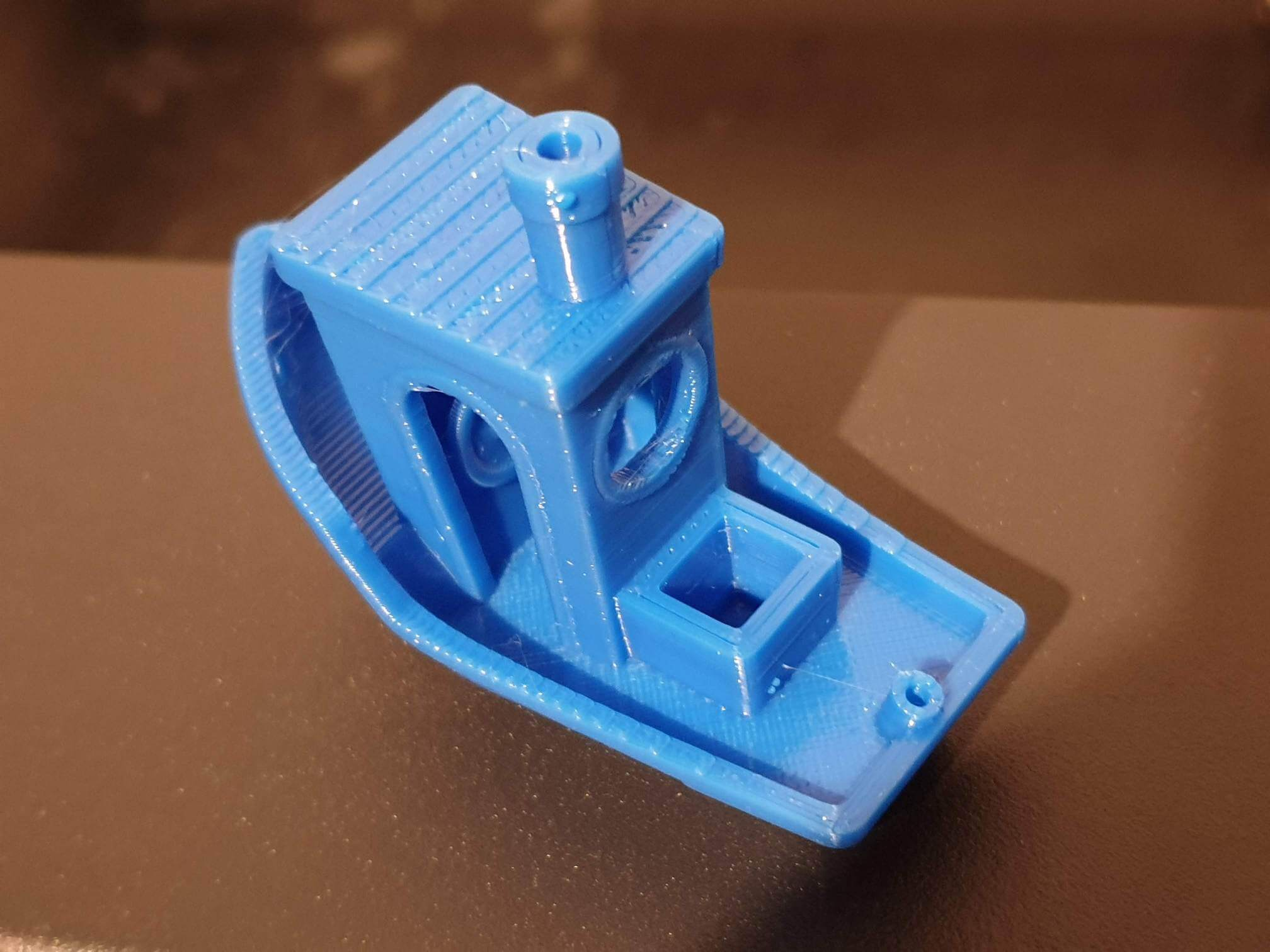 First Benchy on Sapphire Plus
