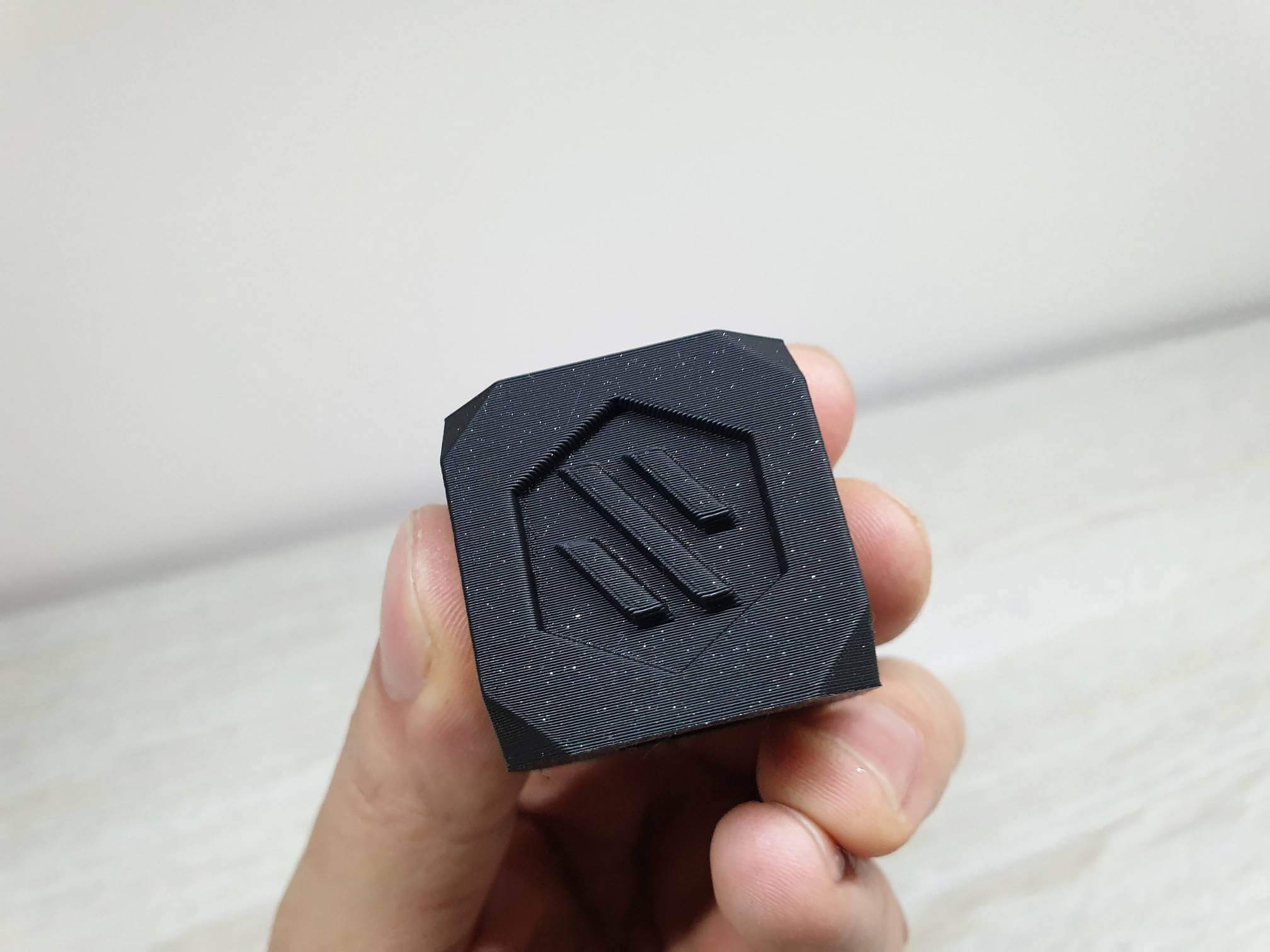 Voron Cube printed on Sapphire Plus