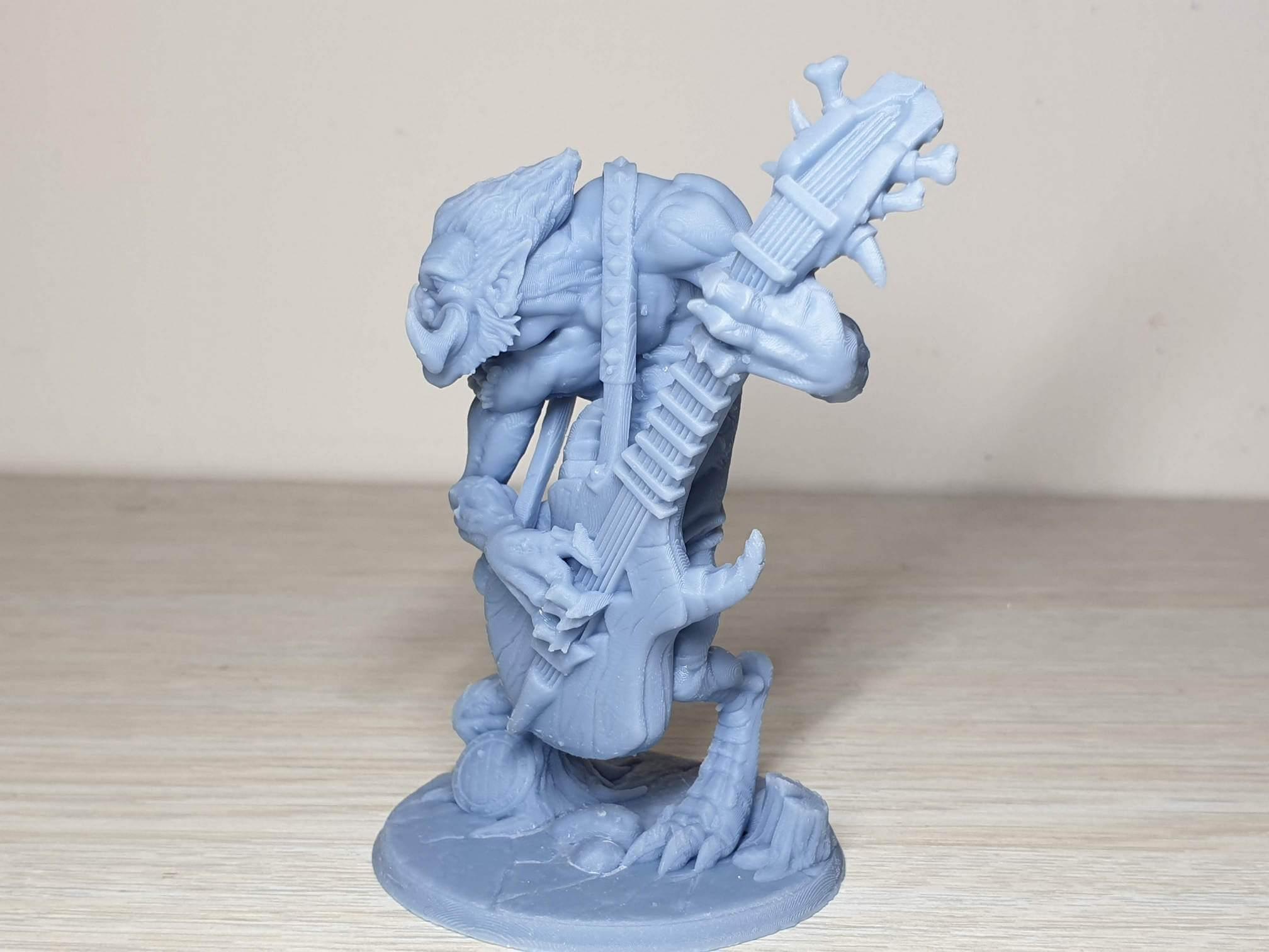 Gunlutt the Troll Guitarist Budget Resin Printer 5   Anycubic Photon Zero Review - Budget Resin Printer