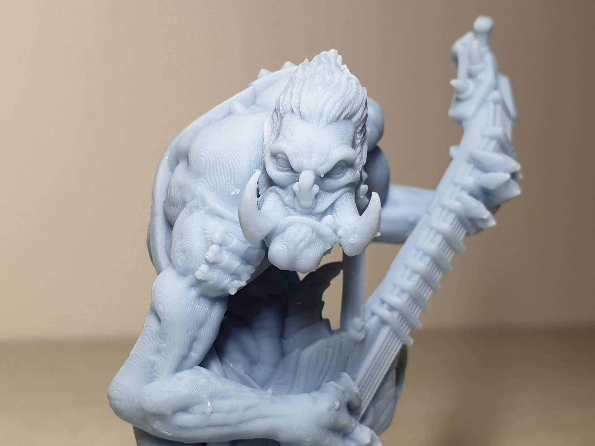 Gunlutt the Troll Guitarist Budget Resin Printer 6   Anycubic Photon Zero Review - Budget Resin Printer