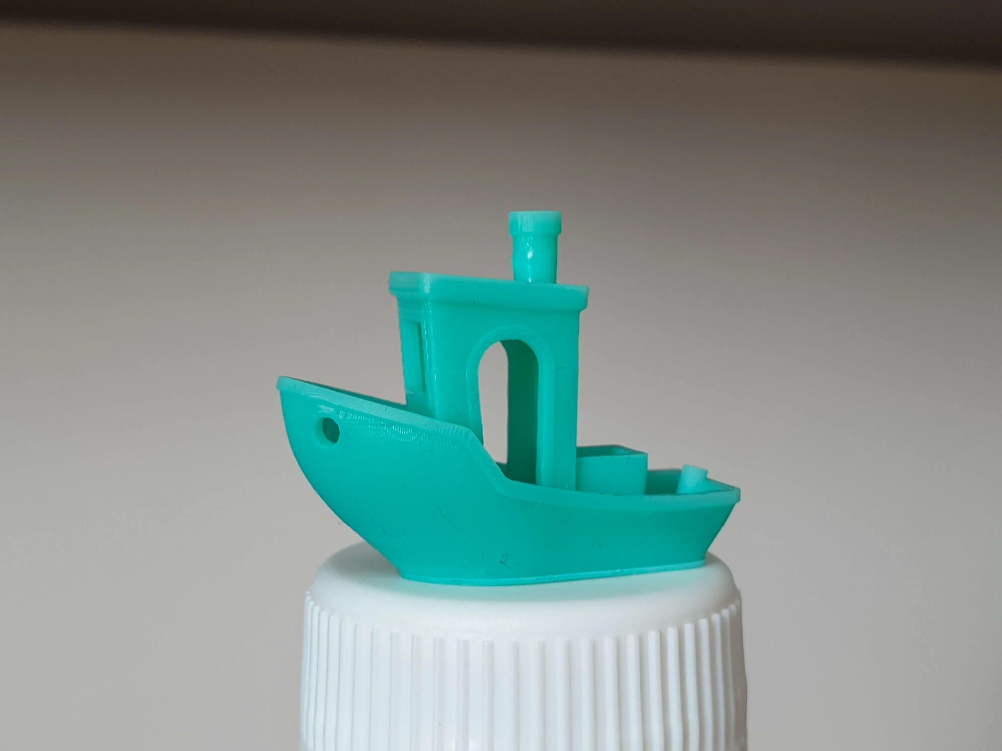 onic Mini review - 3D Benchy