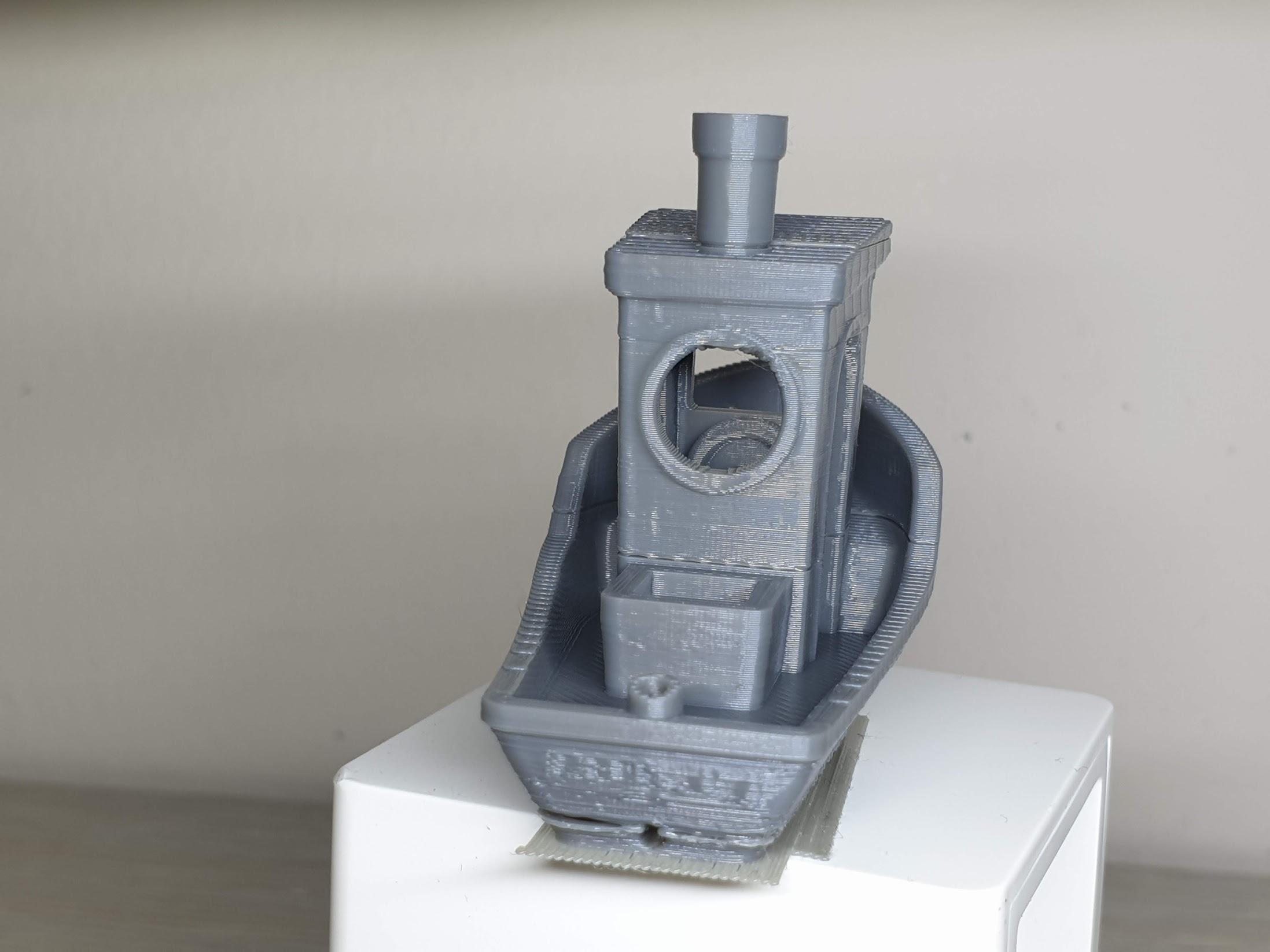 3D Benchy 1 | Cube2 Mini Review - 3D Printer for Kids