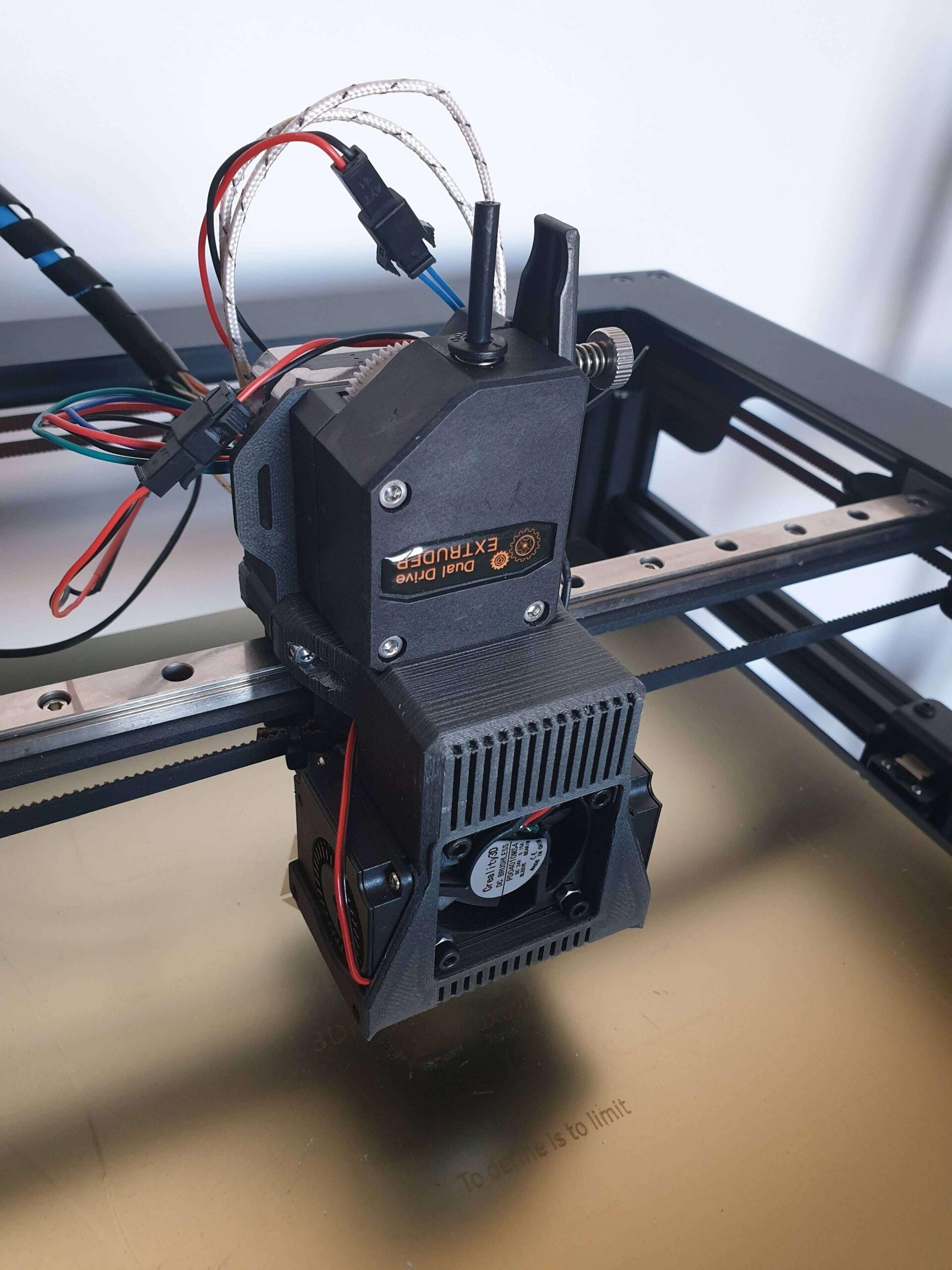 BMG Extruder - Sidewinder X1 Upgrade (4)