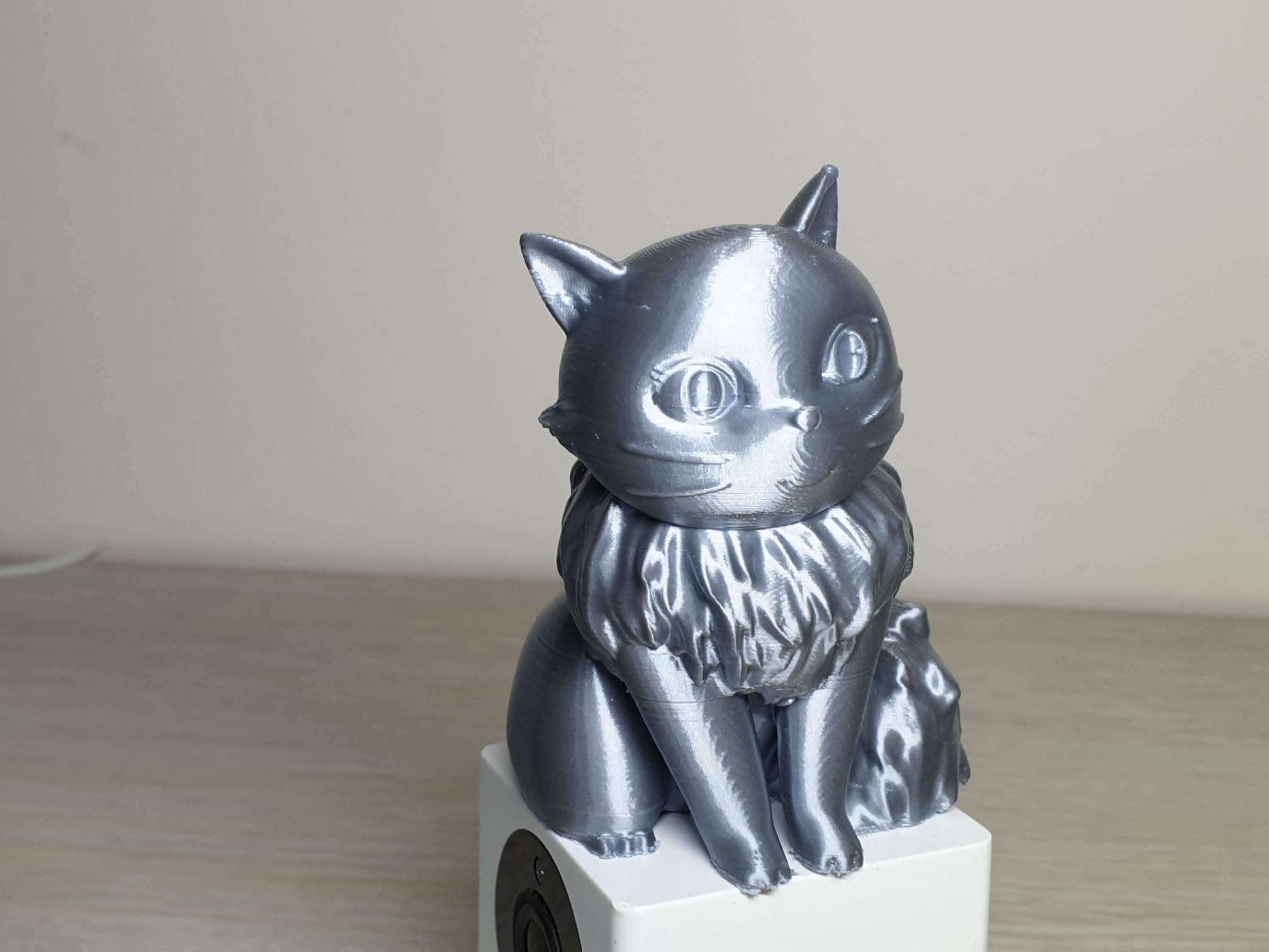 Lily printed on Longer Cube2 Mini 4 | Cube2 Mini Review - 3D Printer for Kids