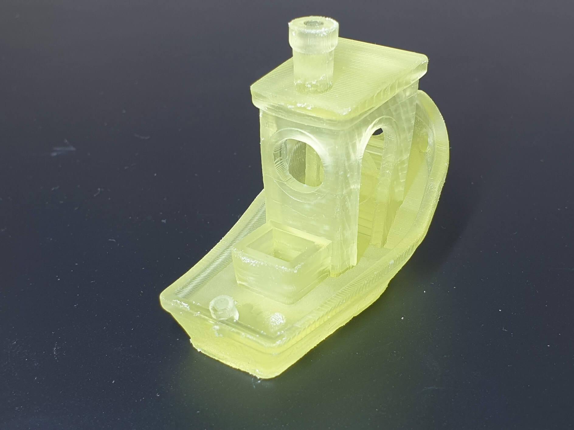Tenacious Resin 3DBenchy