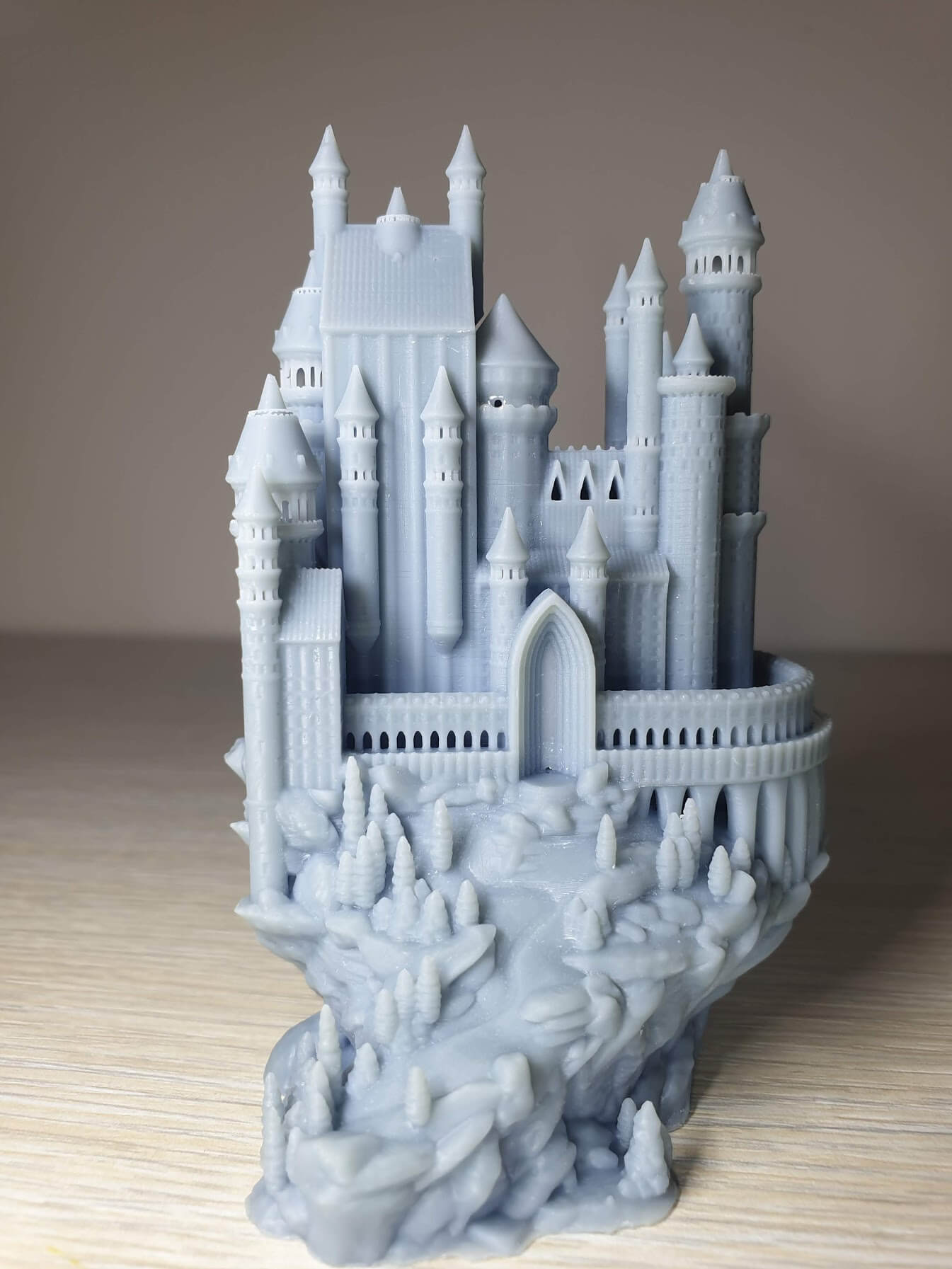 Creality-LD-002R-Review-Medieval-castle-4