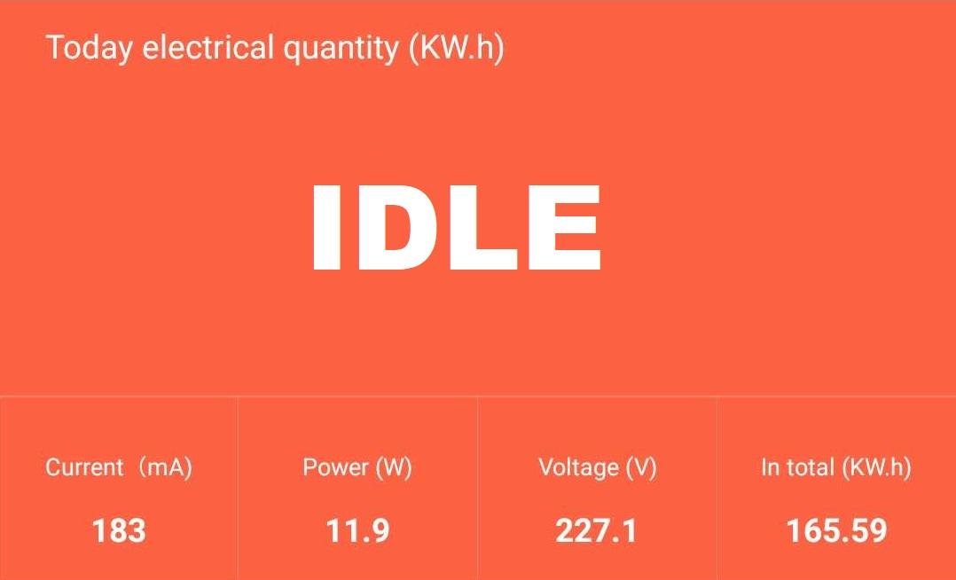 BIQU-BX-Review-Idle-power-draw