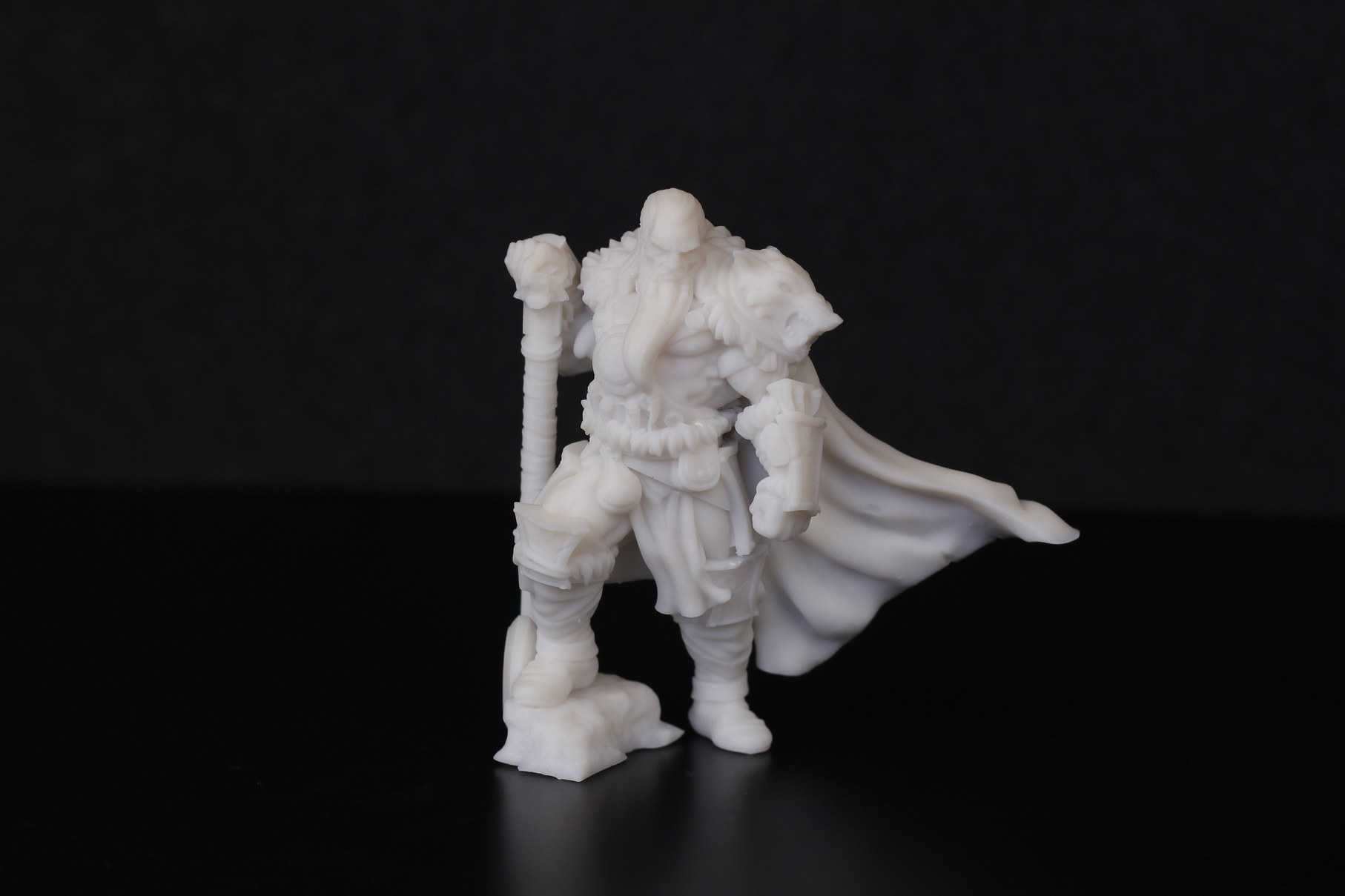 Barbarian Chieftain printed on Anycubic Photon Mono X 1 | Anycubic Photon Mono X Review - Large Format Resin 3D Printer