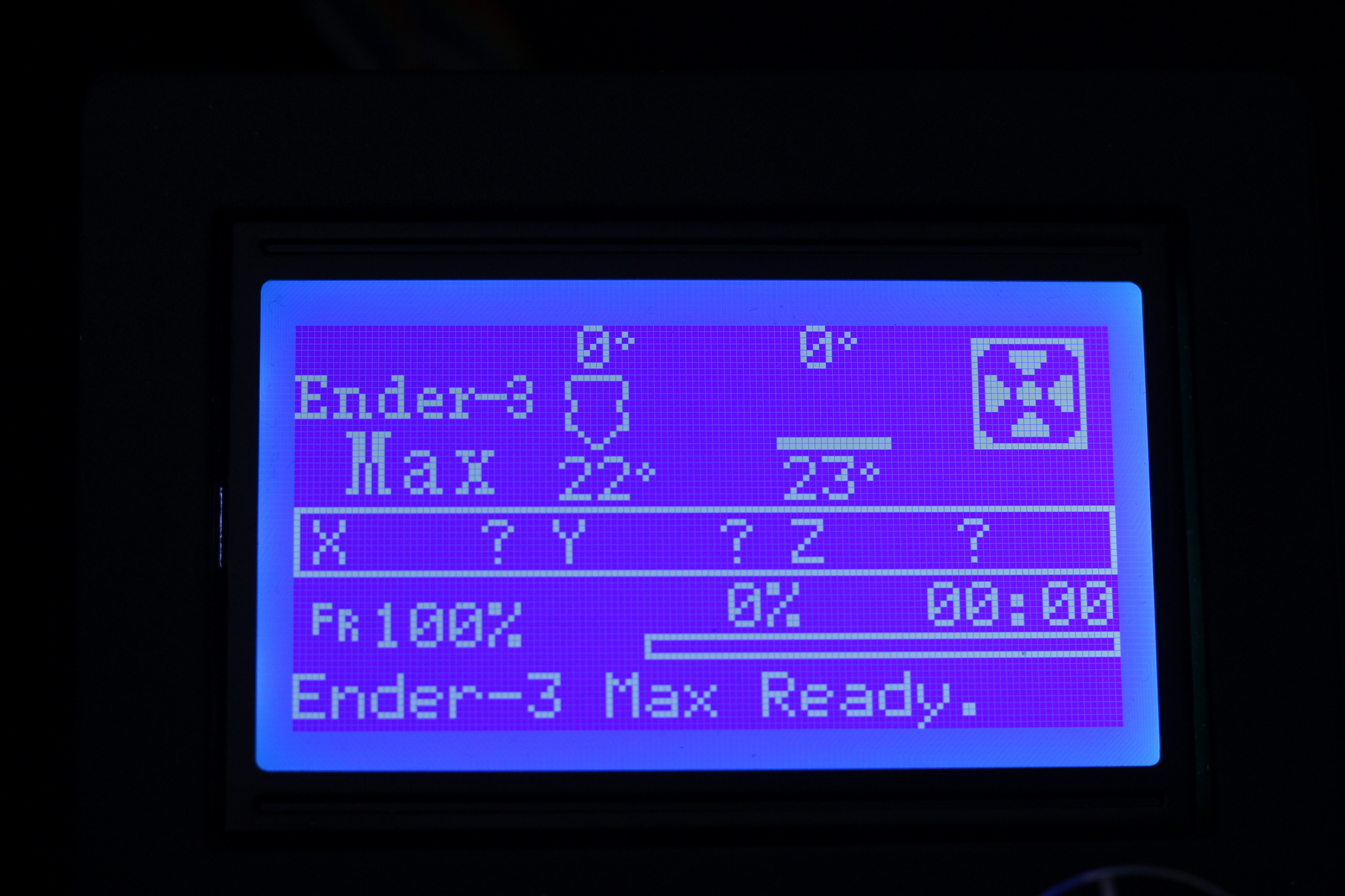 Ender 3 Max Screen Interface 1   Creality Ender 3 Max Review: Bigger equals Better?