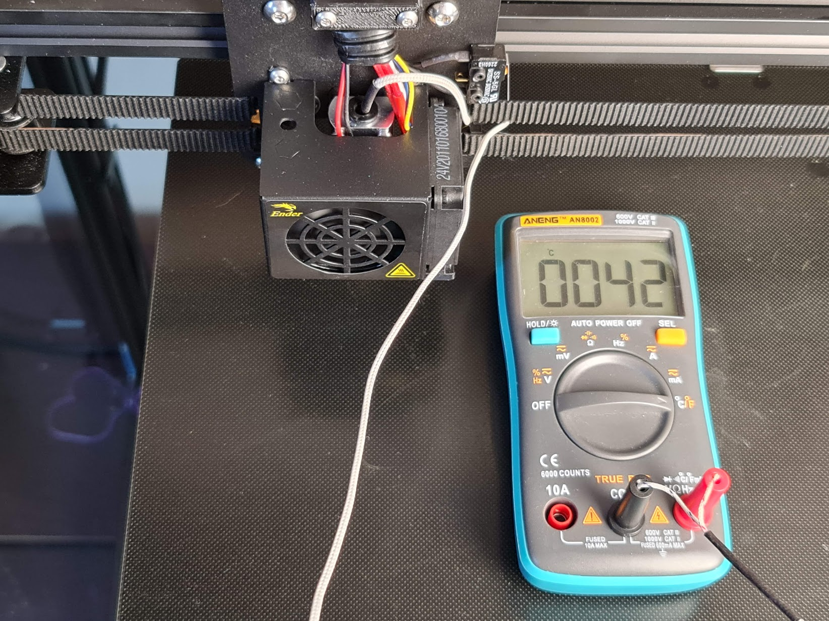 Trianglelab Spiral Hotend temperatures 1 | Trianglelab Spiral Tower Hotend Review
