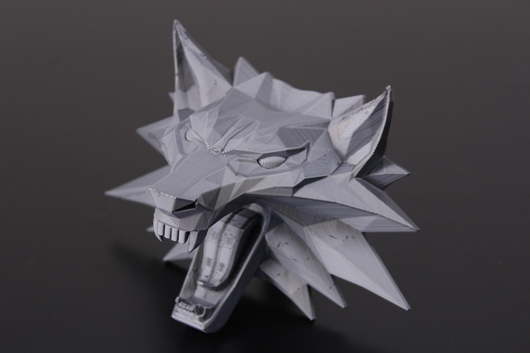 Witcher Wolf Medallion 4   Trianglelab Spiral Tower Hotend Review