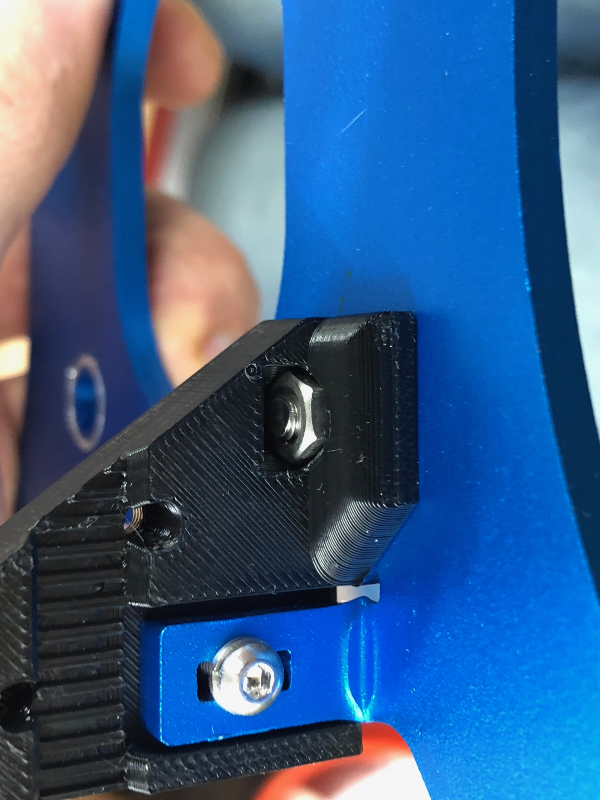 clamp detail scaled | Artillery Linear Rail Y Axis Mod Guide: Sidewinder X1 and Genius