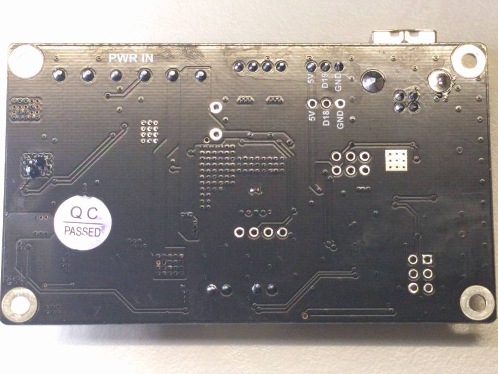 D7 Controller Board Back View