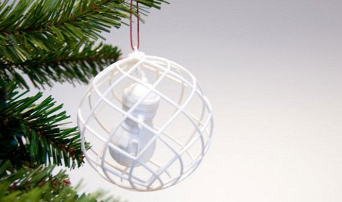 3d Printed Christmas Ornaments