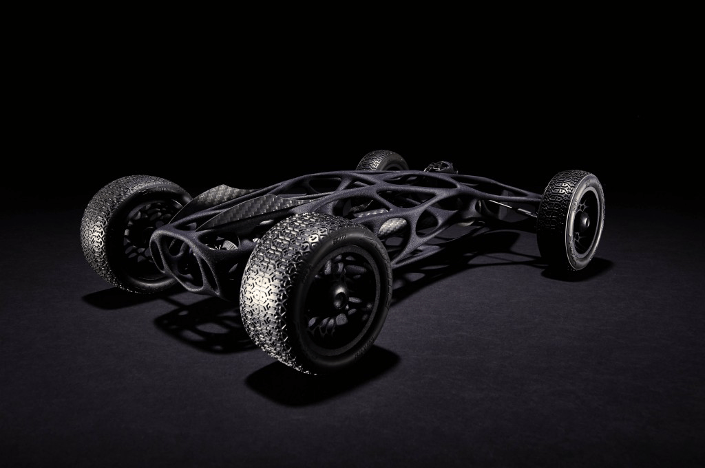 3d Printed Rubber Band Car 3d Printing Industry