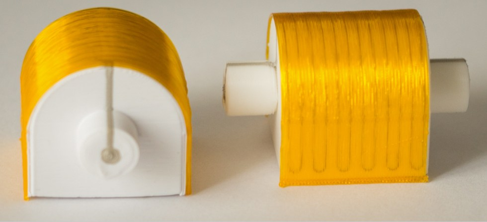 A fully 3D printed heater. Image via Neotech AMT.