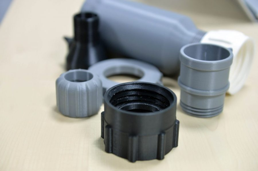 Non-critical 3D printed components for maritime. Photo via Ivaldi Group