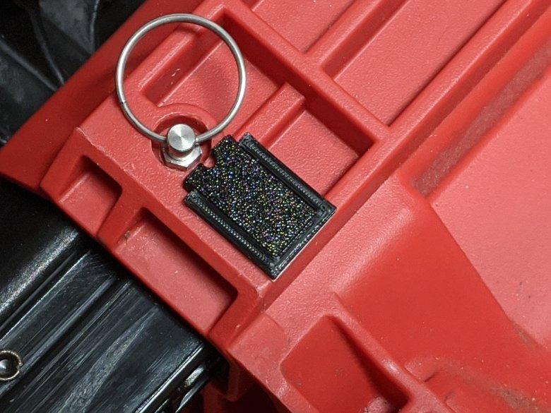 Packout Pin Latch Open